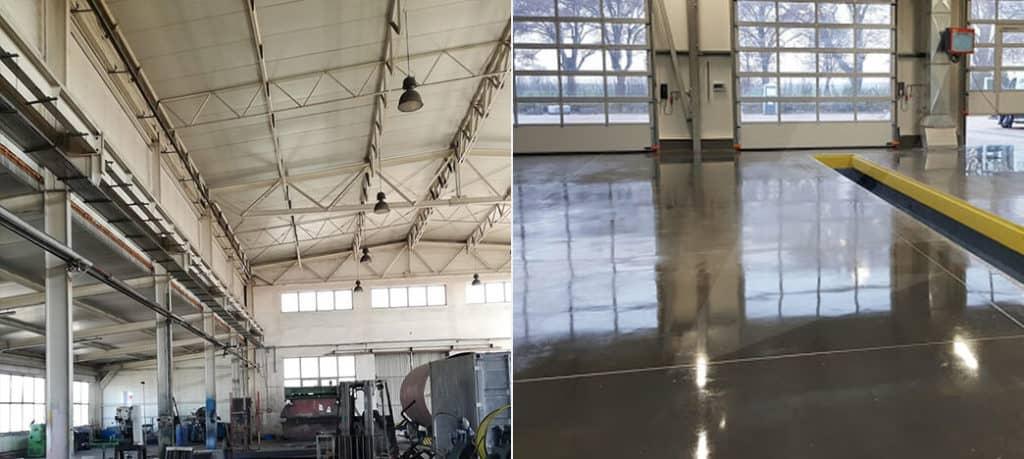 Czyszczenie specjalistyczne i sprzątanie hal produkcyjnych Toruń CO CLEAN UP