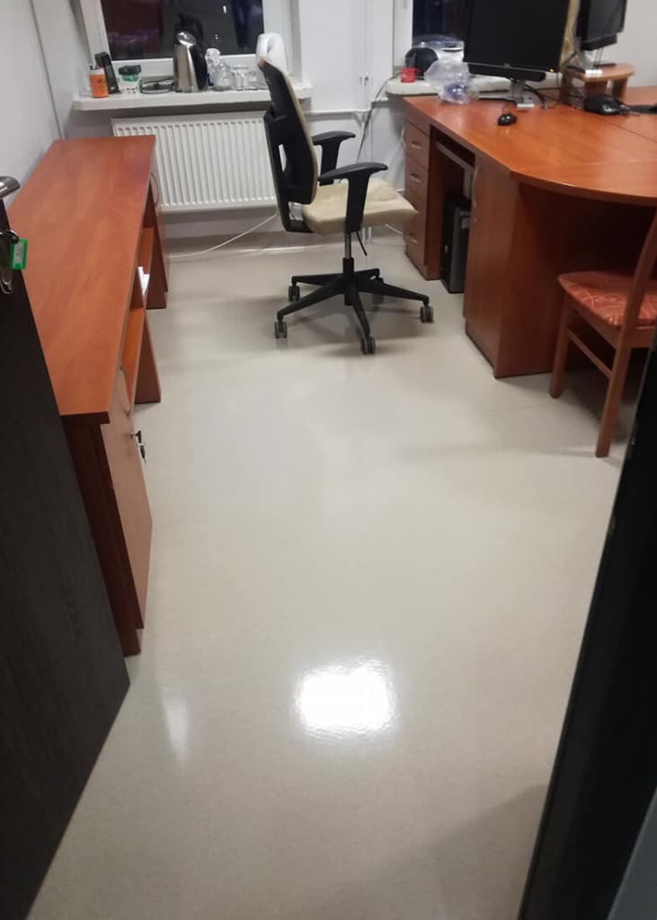 Efekt akrylowania biura świadczy sam za siebie