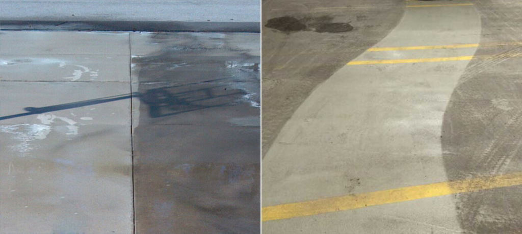 czyszczenie betonu SCO CLEAN UP