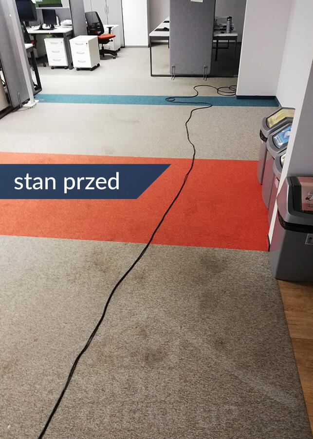 czyszczenie dywanow stan przed
