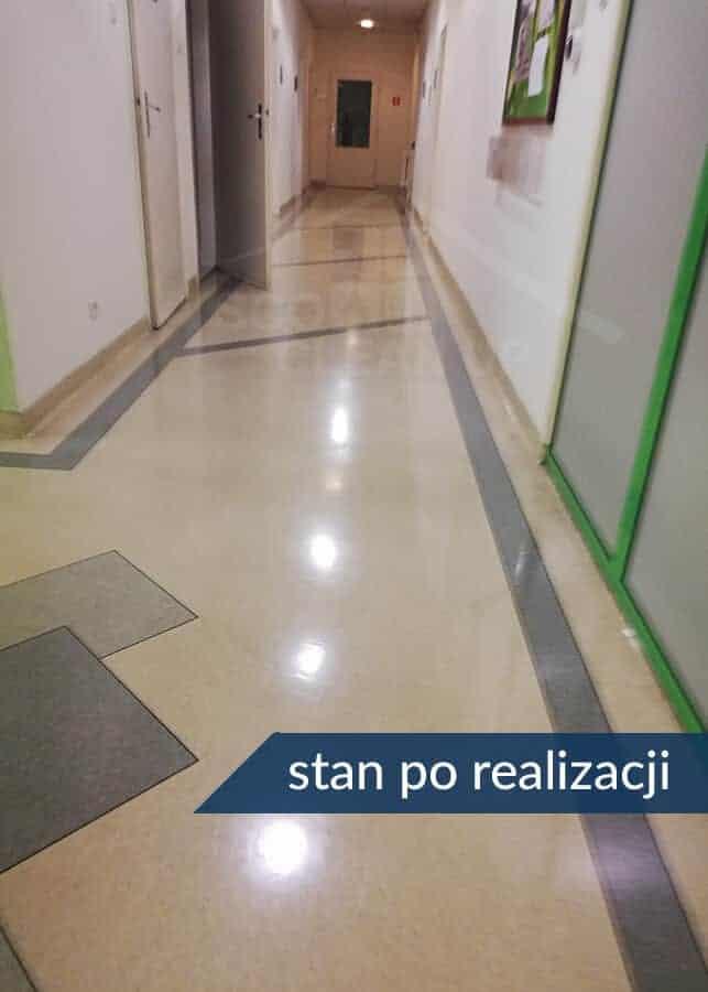 akrylowanie korytarzy