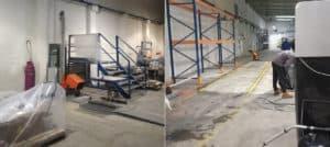 kompleksowe czyszczenie hal produkcyjnych