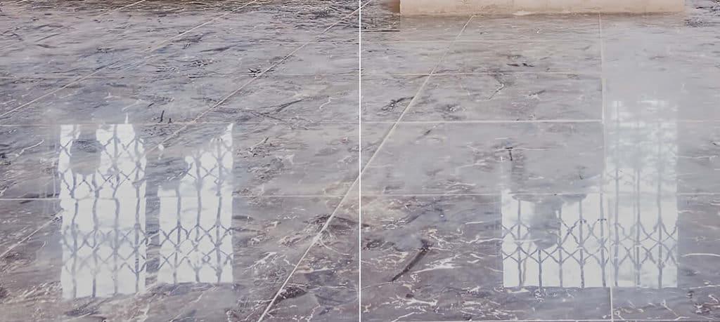 krystalizacja marmuru SCO CLEAN UP