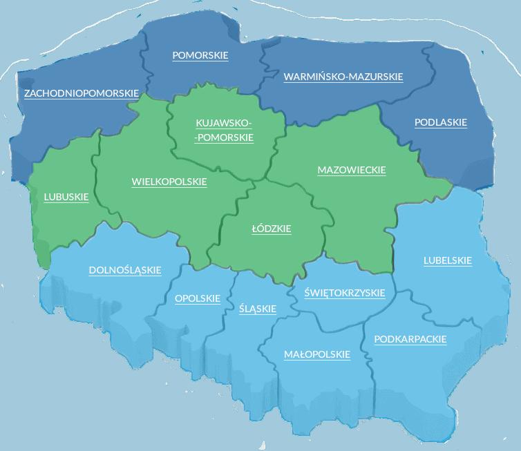 mapa działania SCO CleanUp