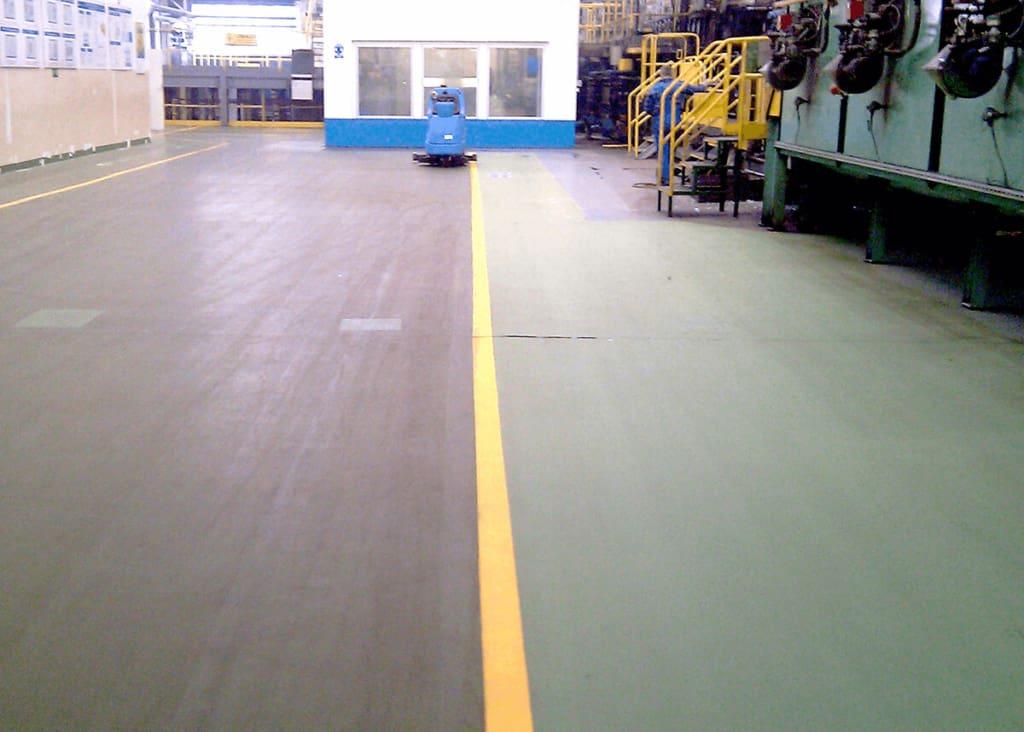 Kompleksowe czyszczenie hali produkcyjnej w Pile