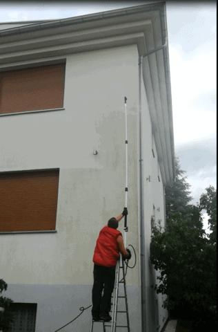 mycie elewacji tynkowej SCO CLEAN UP