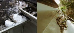 mycie i czyszczenie rynien