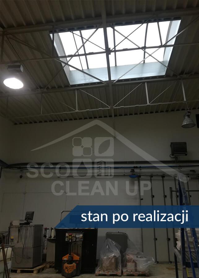mycie okien dachowych