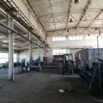 mycie sufitu i konstrukcji hali produkcyjnej oddawanej do użytku
