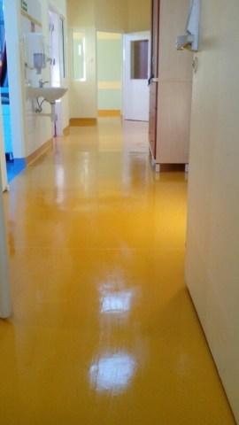 polimeryzacja podłogi w szpitalu
